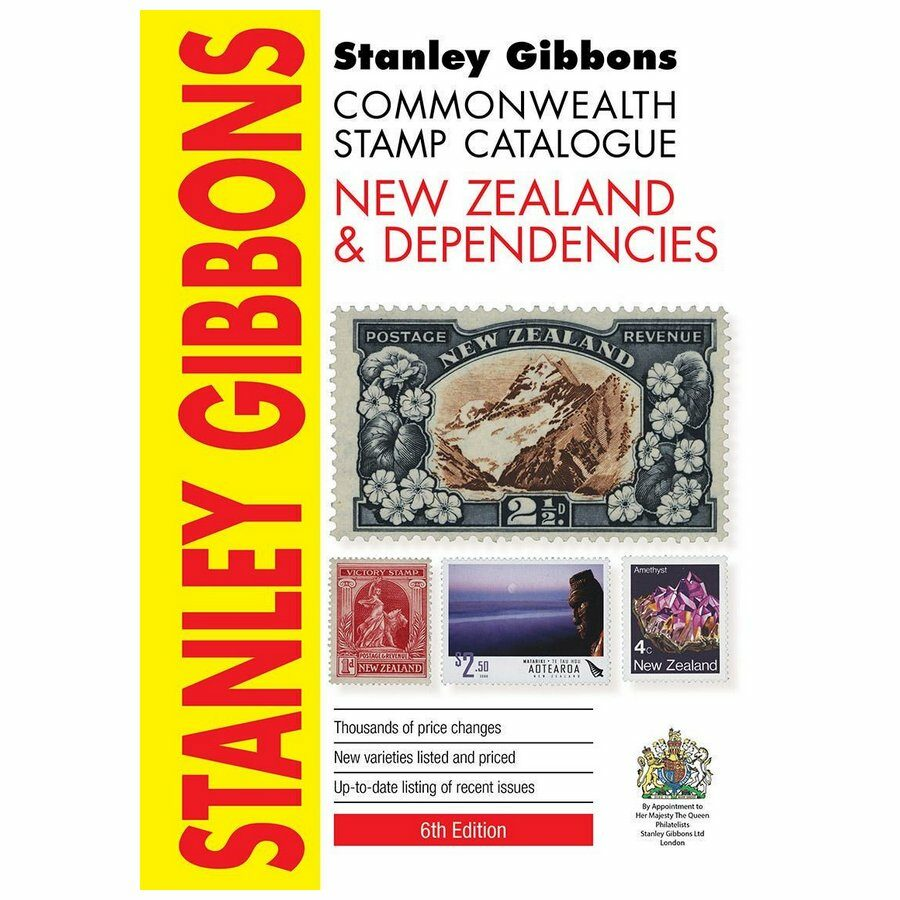 Stanley Gibbons Commonwealth Stamp Catalog New Zealand 6th ed