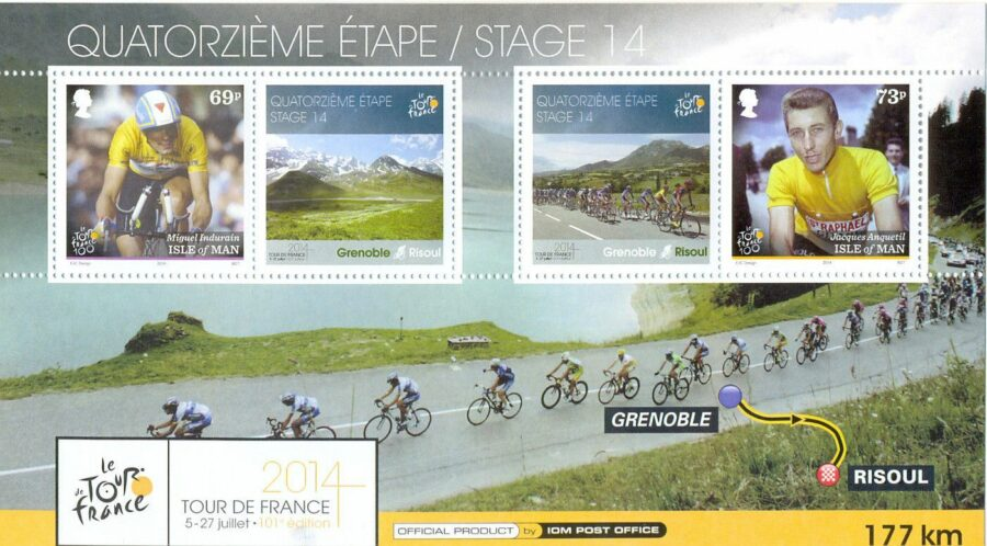 Sport and Stamps: Tour de France – Top 10 Fun Facts