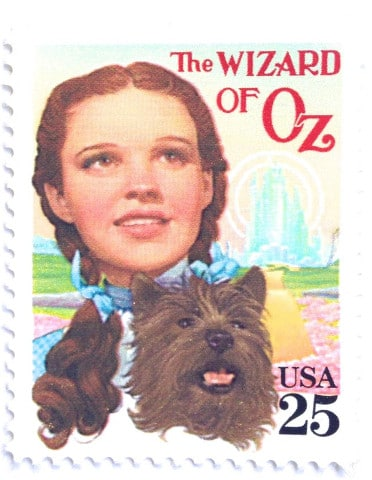 The Wizard of Oz Stamp