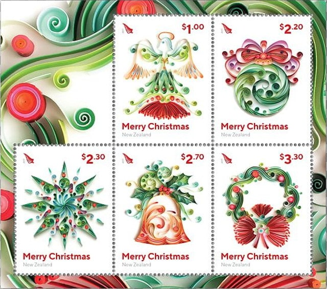 Christmas stamps New Zealand