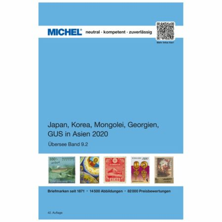 Michel Catalog Japan, Korea, Mongolei, Georgien, GUS in Asien 2020 (ÜK 9/2)