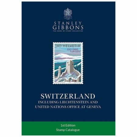 Stanley Gibbons Switzerland Stamp Catalogue 1st Edition
