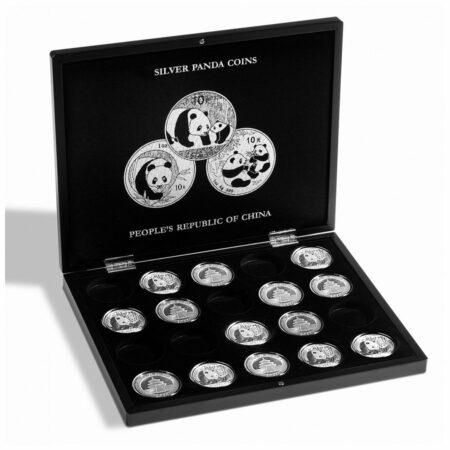 Leuchtturm VOLTERRA Presentation Case 1 tray for Silver Coins