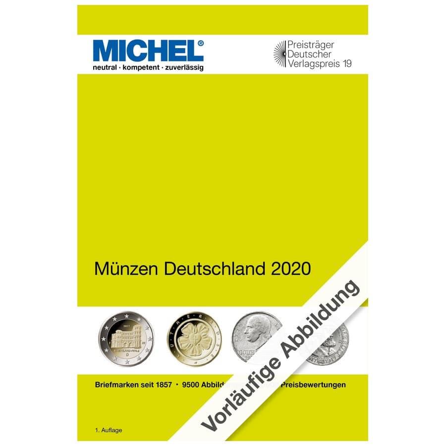 Michel Catalog Münzen Deutschland 2020