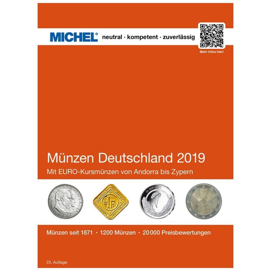 Michel Catalog Münzen Deutschland 2019