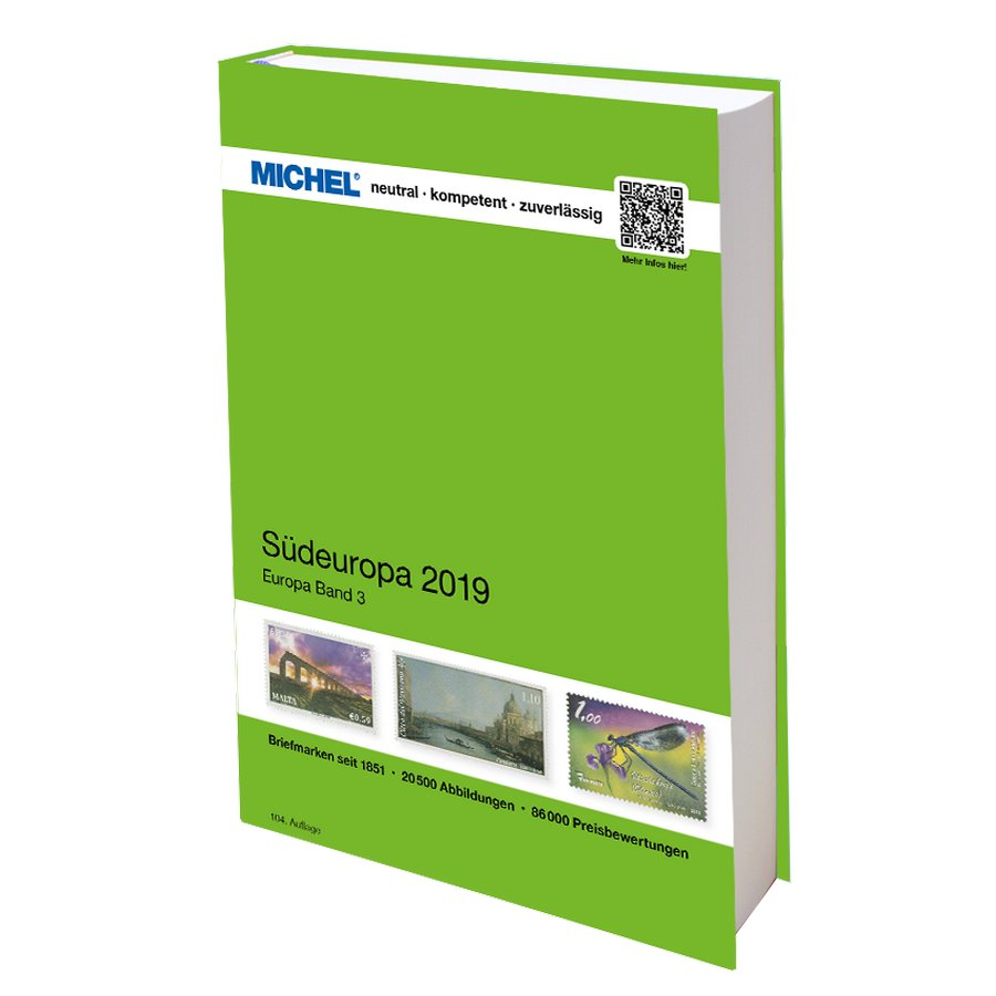 Michel Catalog Südeuropa 2019 (EK 3)