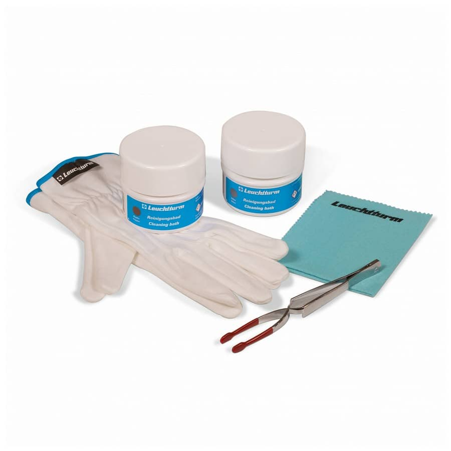 LEUCHTTURM CLEAN-IT Coin Maintenance Set 5 pieces