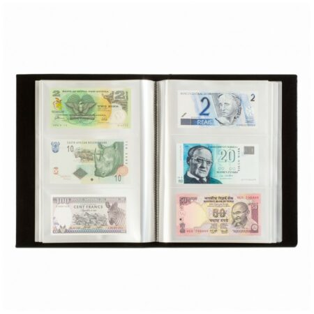 Leuchtturm Album Classic for 300 banknotes
