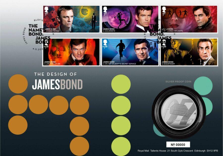 James Bond stamps