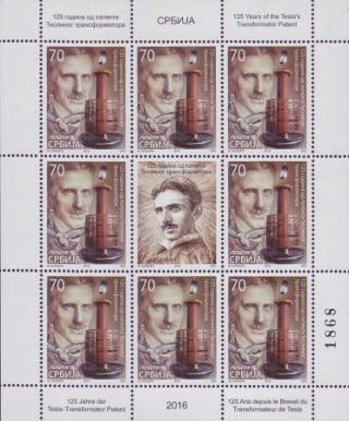 Nikola Tesla - Serbia