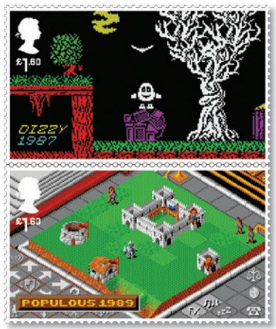Royal Mail - Classic British Video Games - Dizzy Populous