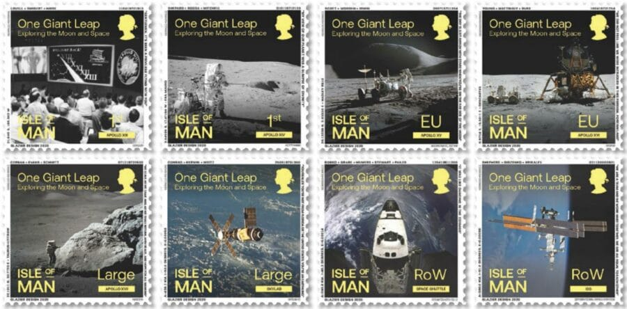 Isle of Man - Moon and Space
