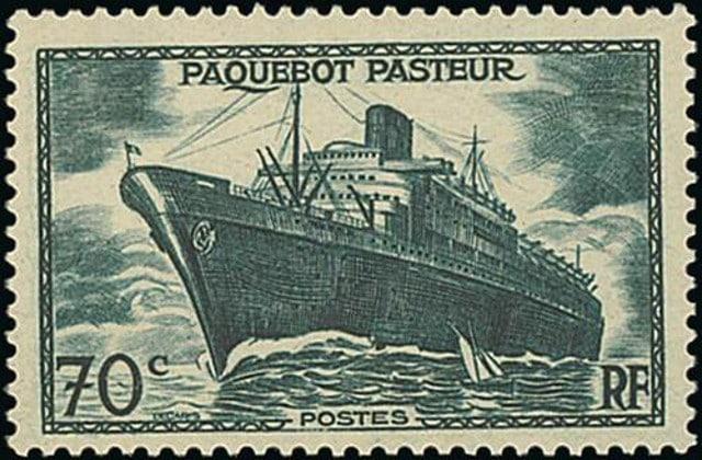 Ship Pasteur - France 1947