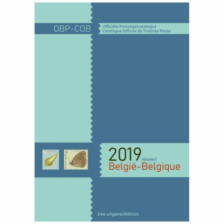 Catalogue Officiel Belge de Timbres-Poste 2019
