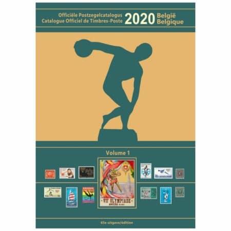 Catalogue Officiel Belge de Timbres-Poste 2020