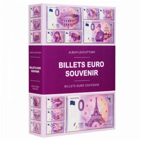 """Leuchtturm 0 EURO album for 420 """"Euro Souvenir"""" banknotes"""