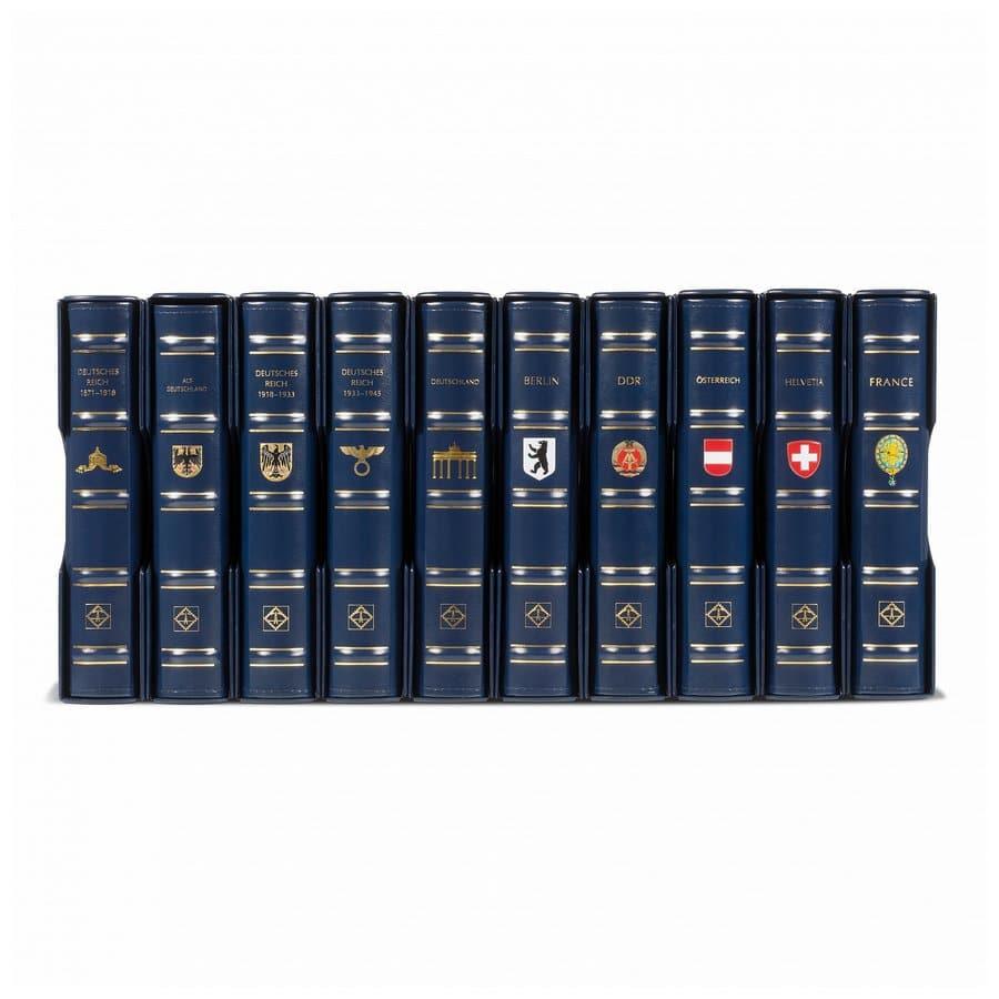 Leuchtturm PERFECT DP turn-bar binder with printed countries