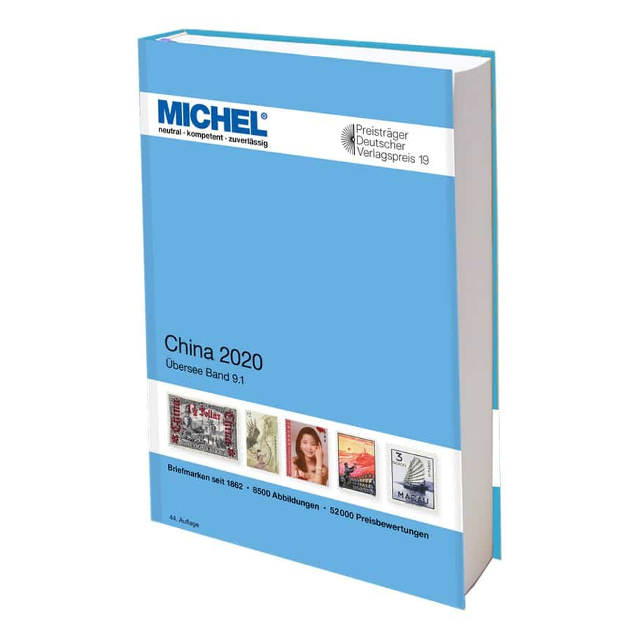 Michel Catalog China 2020 (Ü 9.1)