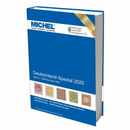 Michel Catalog Deutschland-Spezial 2020 Volume I/II