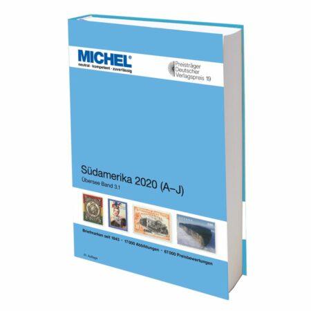 Michel Catalog Südamerika 2020/2021 (ÜK 3) A-J & K-Z