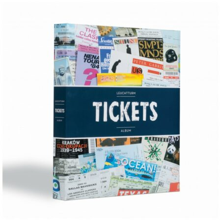 Leuchtturm tickets album for 156 admission tickets