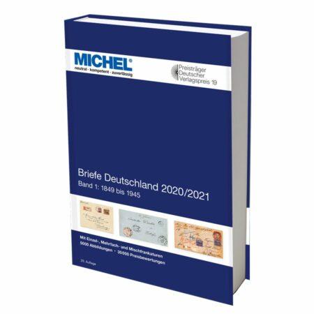 Michel Catalog Briefe Deutschland 2020/2021 Part I (1849–1945)