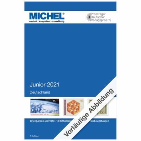 Michel Catalog Deutschland Junior 2021