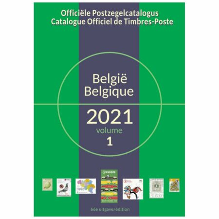 Catalogue Officiel Belge de Timbres-Poste 2021