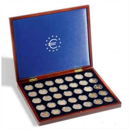 Leuchtturm VOLTERRA UNO coin case 35 €2-coins