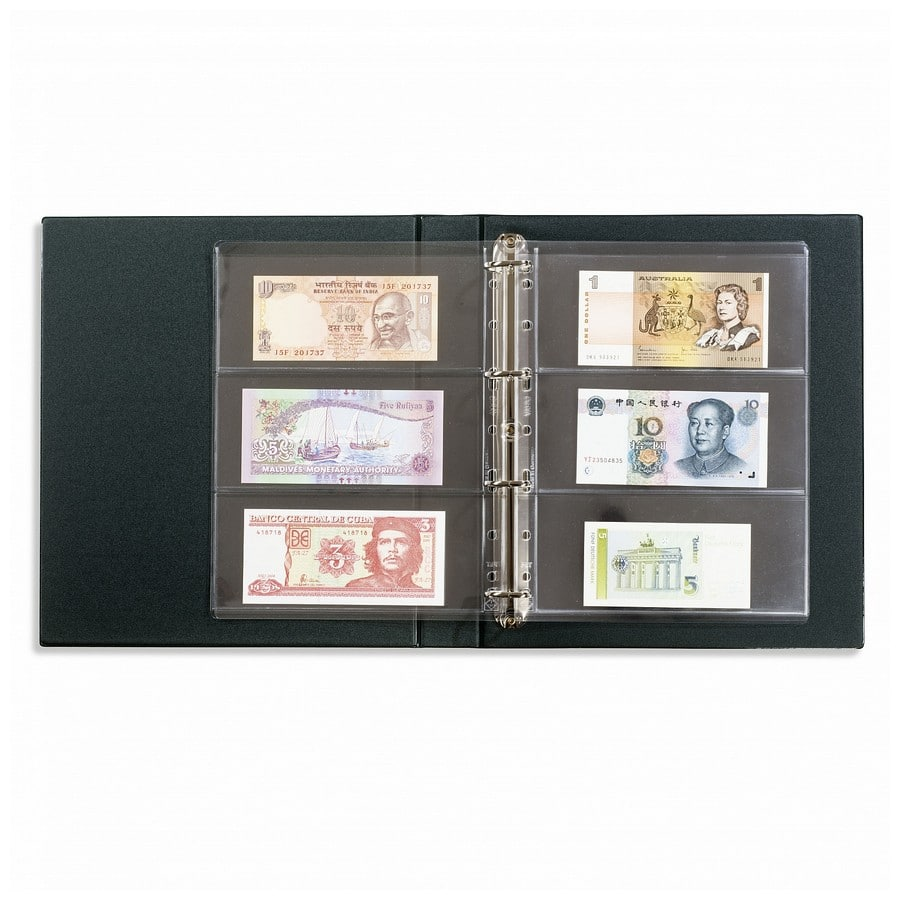 Leuchtturm VARIO F banknote album incl. pages and case