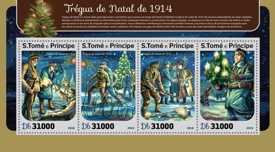São Tomé and Príncipe Christmas truce 1914