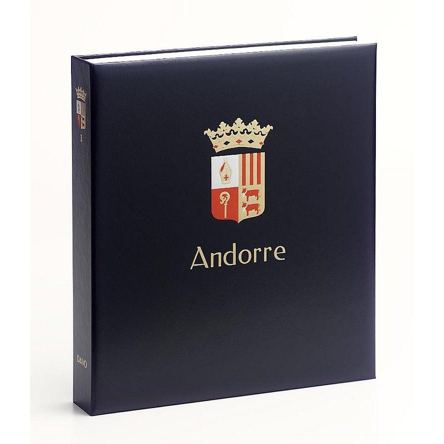 DAVO Printed Albums for Andorra (Spain) / DAVO stamp album binders Andorra