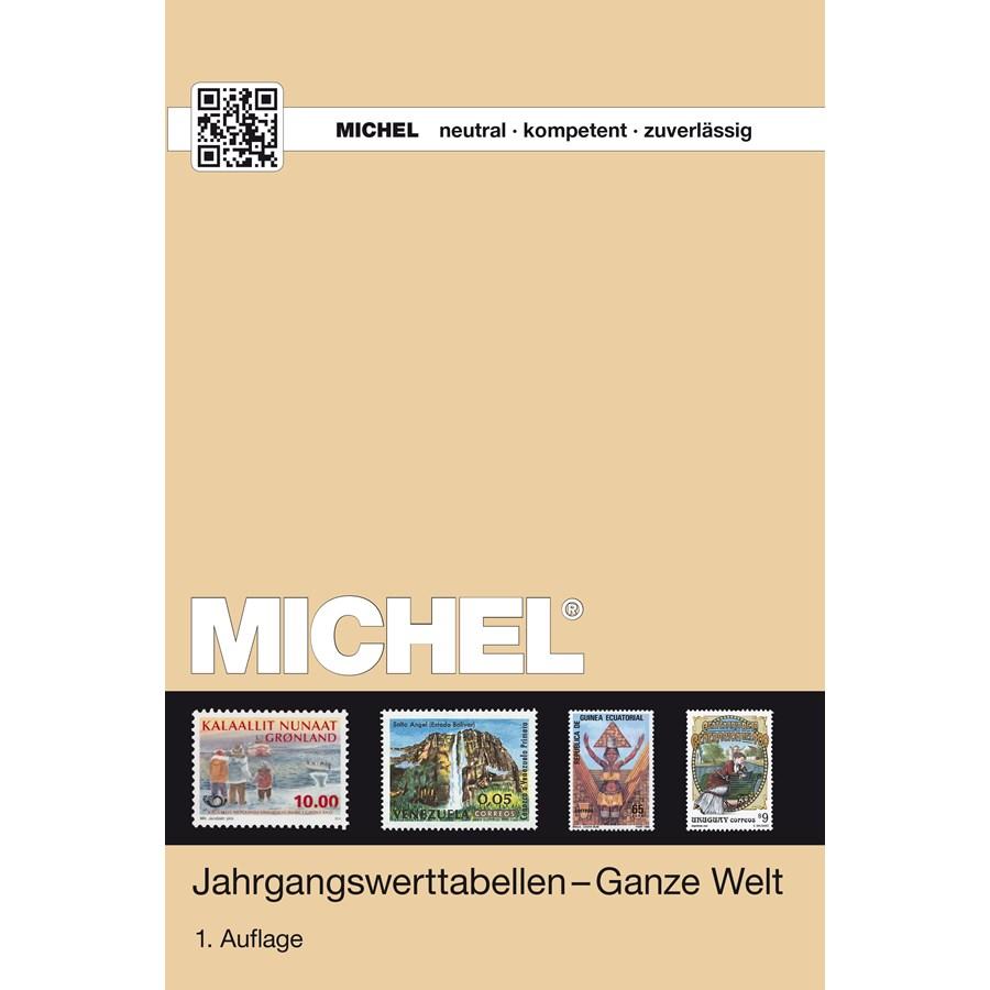 Michel Catalog Jahrgangswerttabellen - Ganze Welt - 2015