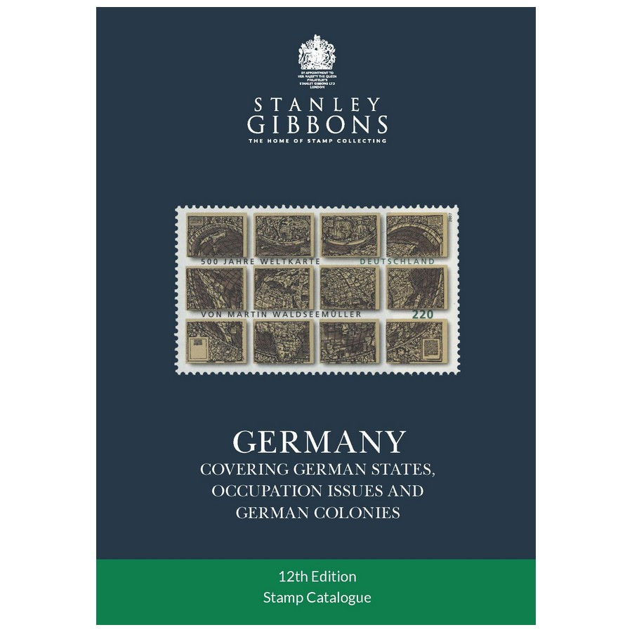 Stanley Gibbons Germany Stamp Catalogue reprint 12th Edition