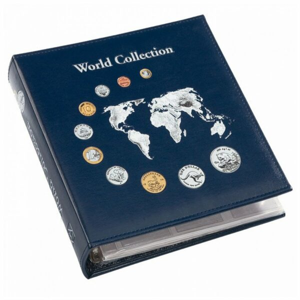 "Leuchtturm NUMIS coin album ""World Collection"""