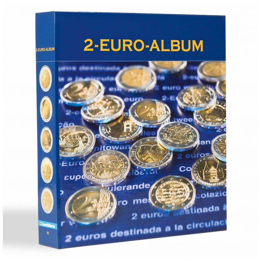 Leuchtturm NUMIS 2-euro illustrated coin albums