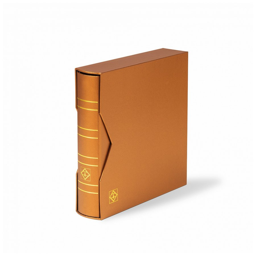 "Leuchtturm NUMIS ring binder in classic design ""Metallic Edition"""