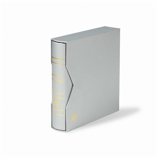 """Leuchtturm NUMIS ring binder in classic design """"Metallic Edition"""""""