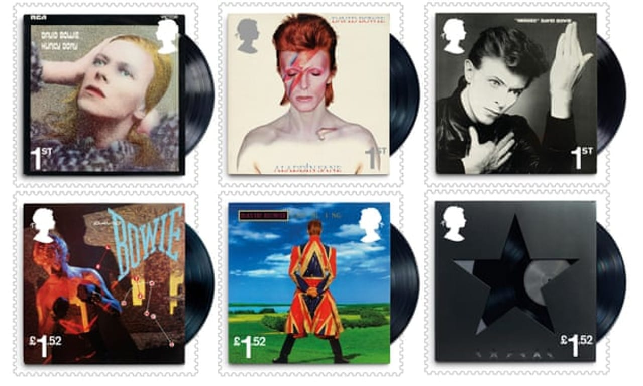 David Bowie UK stamps 2017