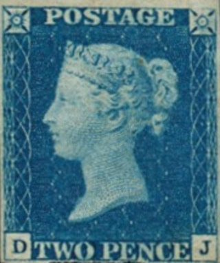 Two Pence Blue 1840