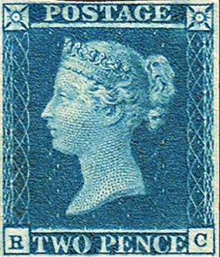 Two Pence Blue