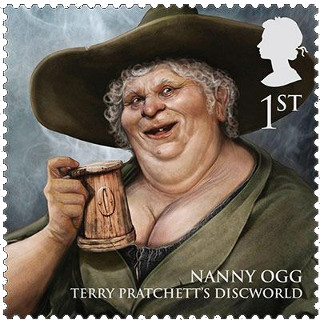 Nanny Ogg Royal Mail