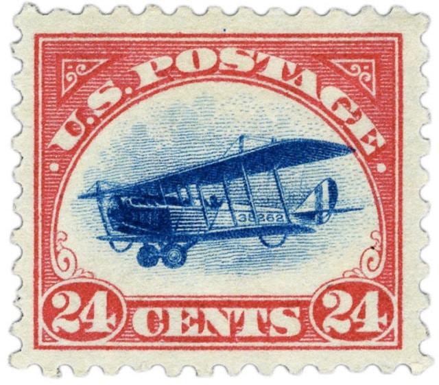 Jenny stamp USA