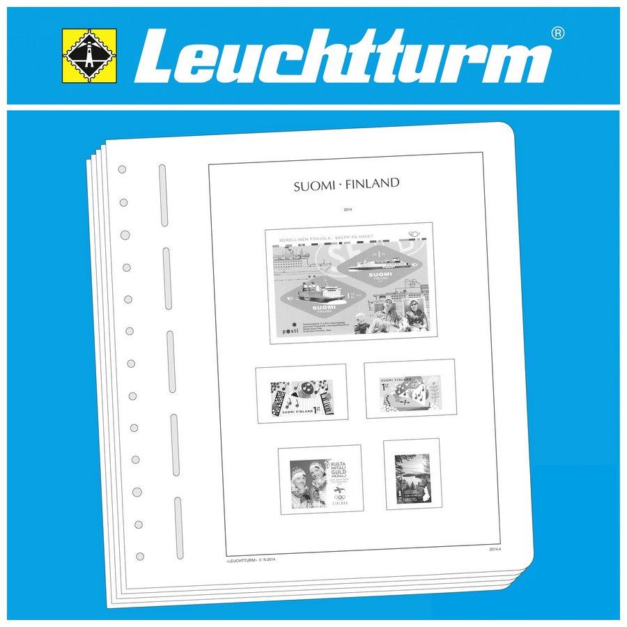 Leuchtturm Illustrated Album Pages Finland