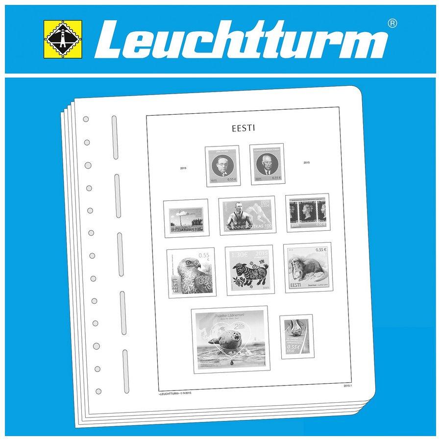 Leuchtturm Illustrated Album Pages Estonia