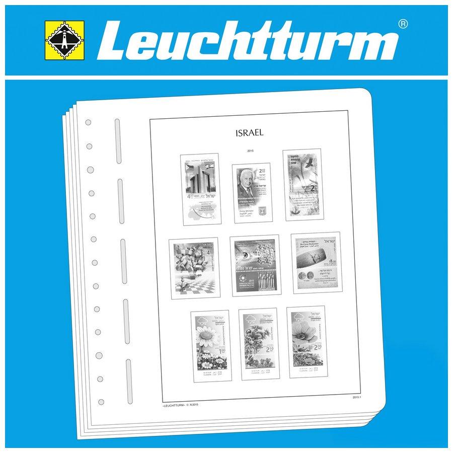 Leuchtturm Illustrated Album Pages Israel