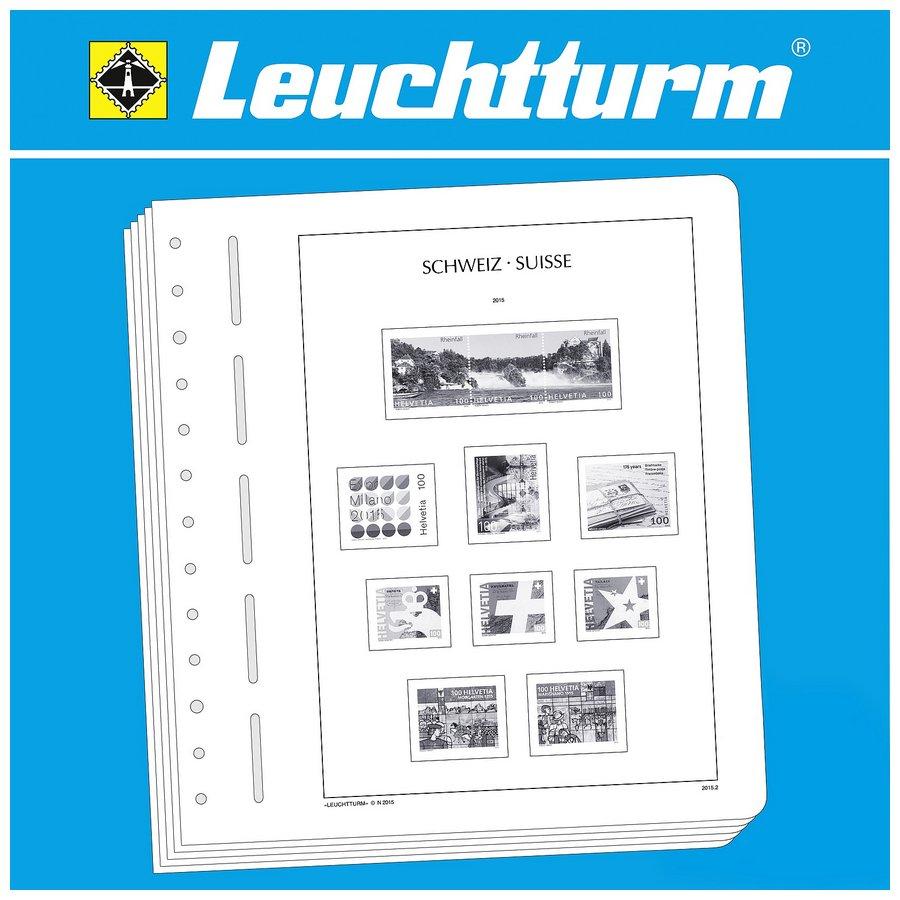 Leuchtturm Illustrated Album Pages Switzerland