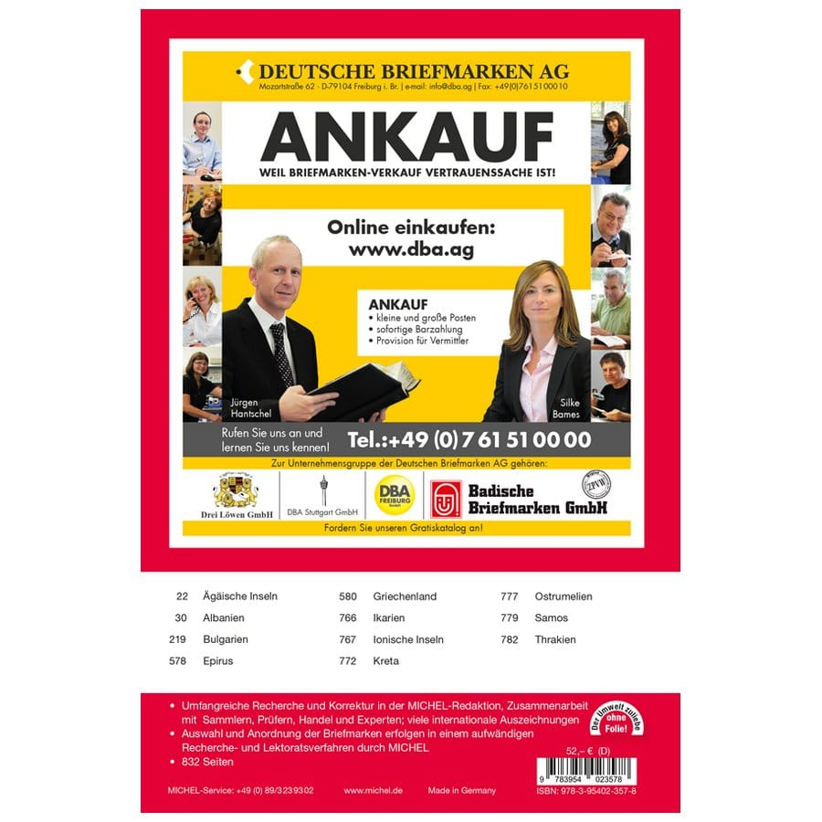 Michel Catalog Südlicher Balkan 2021 (E7)