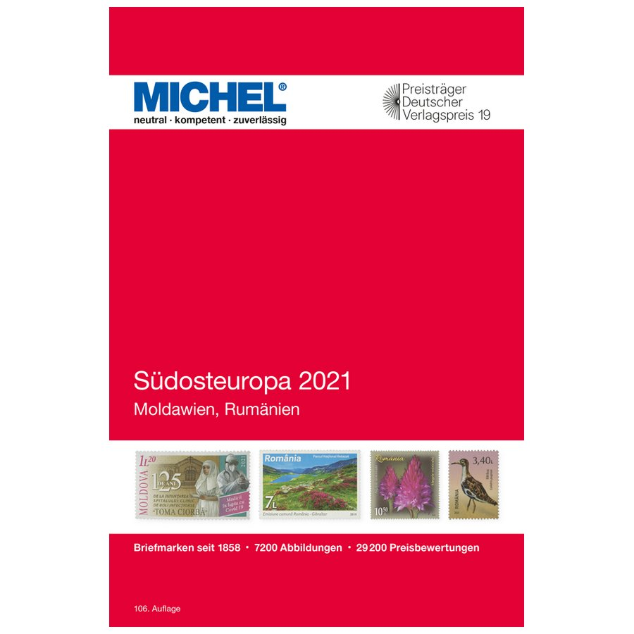 Michel Catalog Südosteuropa 2021 (E8)