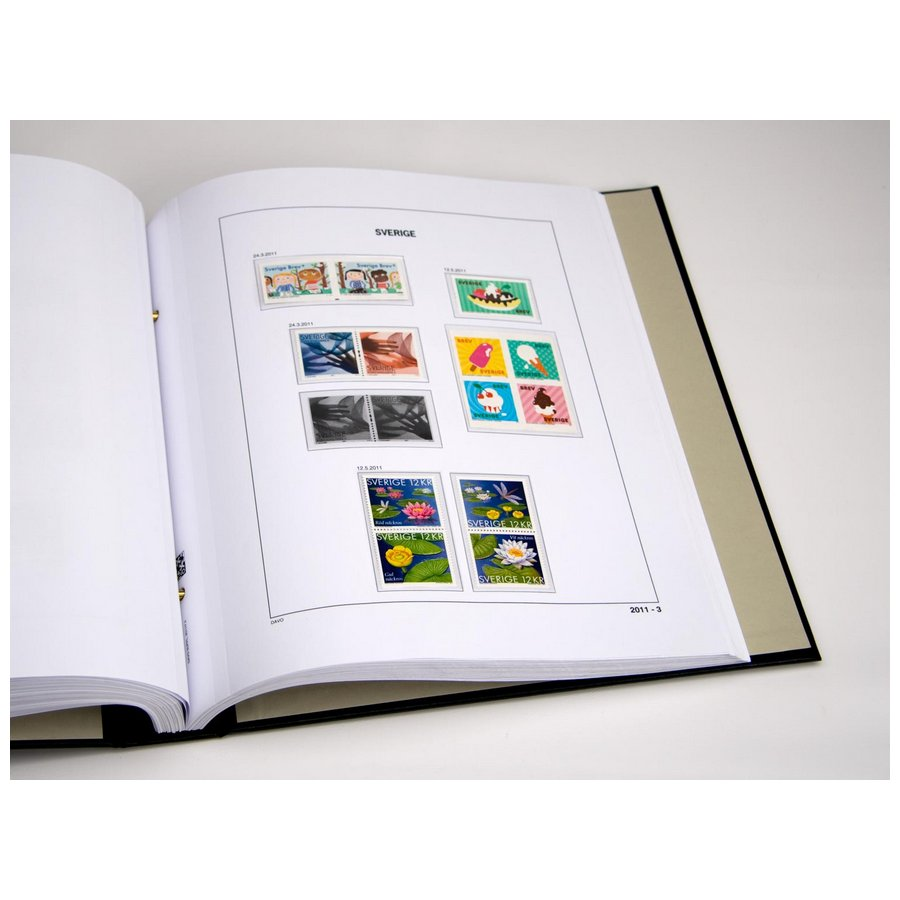 DAVO Year Supplement Pages Sweden
